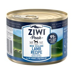 ZiwiPeak Lamb Dog Food Can 170g