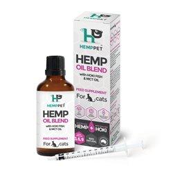 HempPet Hemp Oil Blend with Hoki FIsh & MCT Oil for Cats 100mL