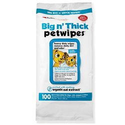 Petkin Big N' Thick Pet Wipes 100pk