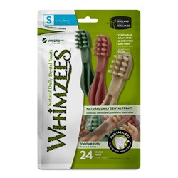 Whimzees Small Toothbrush Value Bag 24