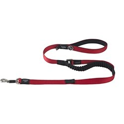 Rogz Long Control Dog Lead Red 120cm