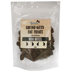 Cheeky Kitty Roo Bites 150g