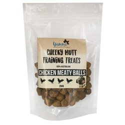 Cheeky Mutt Chicken Meaty Balls 200g