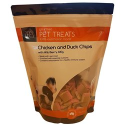 ZEEZ Chicken & Duck Chips, Wild Berry 600g