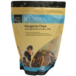 ZEEZ Kangaroo Chips, Sweet Potato & Parley 600g