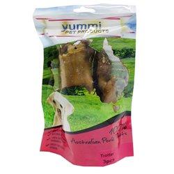 Yummi Pig Trotter 3 Peice Dog Treat