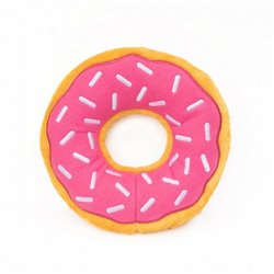 ZippyPaws - Jumbo Donutz Strawberry 26.5cm Dia x 6.5Hcm