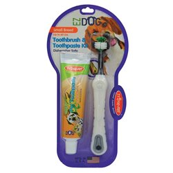 Ezdog Triple Pet Tooth Brush & Paste for Small Breed