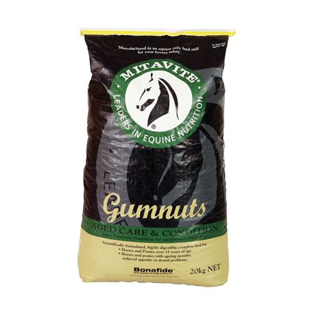 Mitavite Gumnuts Aged Care & Condition Horse Feed 20kg