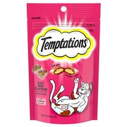 Temptations Hearty Beef Flavor Treats 85g