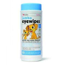 Petkin Jumbo Eye Wipes - 80pk