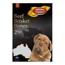 Natures Instinct Beef Brisket 2kg