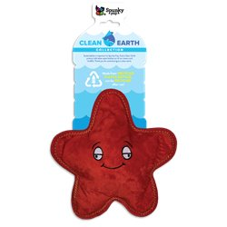 Spunky Pup Clean Earth Plush Starfish