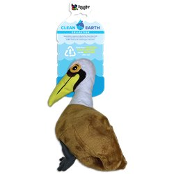 Spunky Pup Clean Earth Plush Pelican