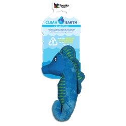 Spunky Pup Clean Earth Plush Seahorse