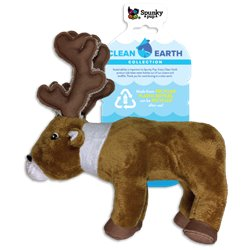 Spunky Pup Clean Earth Plush Caribou