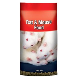 LAUCKE Rat & Mouse Food 20kg Bag (WAREHOUSE PICK UP & SYDNEY DELIVERY ONLY)