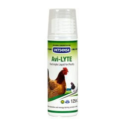 Vetsense Avi-Lyte Electrolyte Liquid For Poultry 125ml