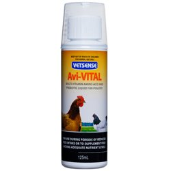 Vetsense Ali Cital Multi-Vitmain Amino & Prebiotic For Poultry 125ml