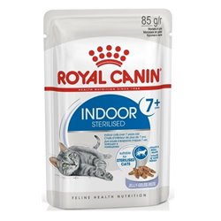 Royal Canin Indoor Sterilised Wet Food for Cats 7+ in Jelly