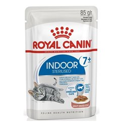 Royal Canin Indoor Sterilised Wet Food for Cats 7+ in Gravy