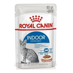 Royal Canin Indoor Sterilised Wet Food for Cats in Gravy