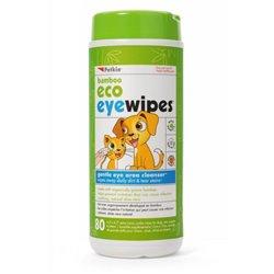 Petkin Bamboo Eco Eye Wipes - 80pk