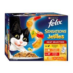 Felix Sensations Meaty Selections 12 x 85g