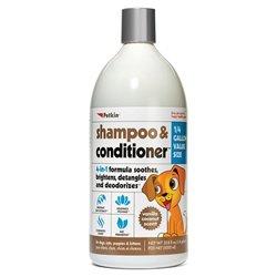 Petkin Shampoo & Conditioner - Vanilla Coconut Scent 1L