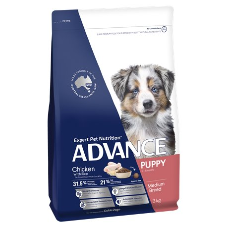 Advance Medium Breed Chicken with Rice Dry Dog Food