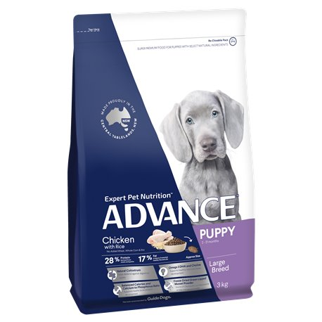 Advance Large Puppy Chicken with Rice Dry Dog Food
