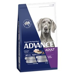 Advance Large Adult Chicken and Rice Dry Dog Food