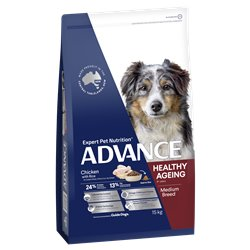 Advance Medium Healthy Aging Chicken with Rice Dry Dog Food