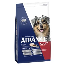 Advance Medium Adult Chicken with Rice Dry Dog Food