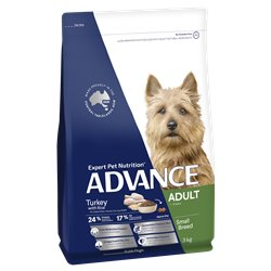 Advance Small Adult Turkey with Rice Dry Dog Food