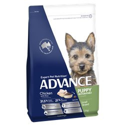 Advance Small Puppy Chicken with Rice Dry Dog Food