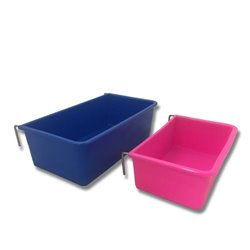 Coop Cup Plastic Rectangle Feeder