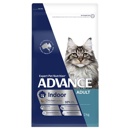Advance Adult Indoor Chicken with Rice Dry Cat Food