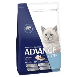 Advance Kitten Chicken with Rice Dry Cat Food