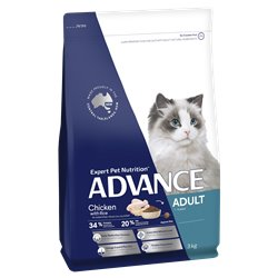 Advance Adult Chicken with Rice Dry Cat Food