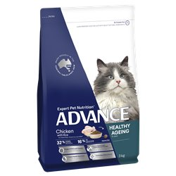 Advance Healthy Ageing Chicken with Rice Dry Cat Food