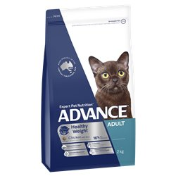 Advance Adult Light Dry Cat Food Chicken Recipe
