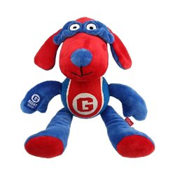 Gigwi Agent Dog Plush with Tennis Ball