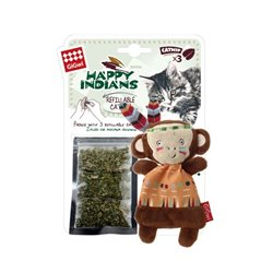 Gigwi Happy Indians Monkey with Catnip