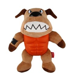 Gigwi Im Hero Armour Dog Plush with Squeak