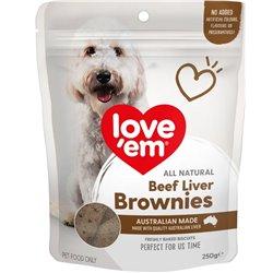 Love 'em Liver Brownie 250g