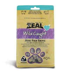 Zeal Wild Caught Naturals Hoki Fish Skins 125g