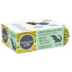Balanced Life Crocodile & Rice 2 x 650g
