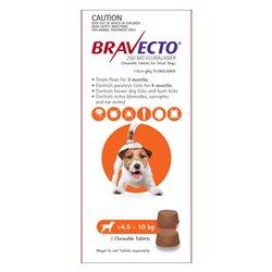 Bravecto Small Dog 2.4-10kg