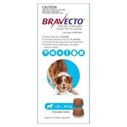 Bravecto Large Dog 20-40kg (2pk)